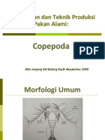 6 Teknologi Produksi Dan Pengayaan Pakan Alami COPEPODA Dan