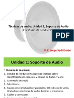 Técnicas de audio estudio de producción