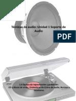 Técnicas de audio unidad 1 parte 2
