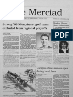 The Merciad, Oct. 13, 1988