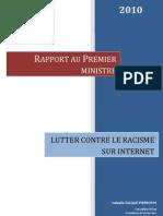 20100121 Rapport Lutter Contre Le Racisme Sur Internet