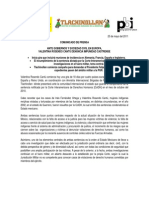 112505 COMUNICADO_Valentina Rosendo Cantú denuncia impunidad castrense en Europa_2_