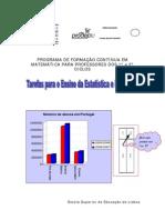ensinar probabilidades estatística