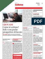 Giovani, Lavoro e Cittadinanza Sociale a Modena
