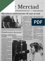 The Merciad, Feb. 9, 1989