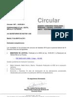 CONCURSO TRASLADOS - SEGUIMIENTO 19-05-11