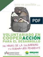 Voluntariado Nicaragua Verano 2011
