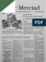The Merciad, April 27, 1989