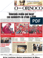 Correo del Orinoco 26 de mayo 2011