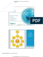 TOGAF V9 Sample Catalogs Matrics Diagrams v2