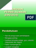 k1 Pen Gurus An Pembelajaran (Edu3034)