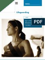 Red Cross Lifeguard Manual