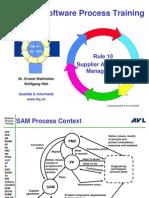 Supplier Agreement Management