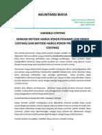 Nani k Tugas Pert Vi_variable Costing Job Order n Process Costing