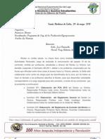 Decisión del rectorado con respecto a la suspencion del semestre unesur Núcleo La Victoria