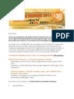 30-Hour Famine 2011 Volunteer Recruitment