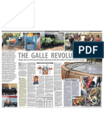 THE GALLE REVOLUTION of Biogas Colloboration with City Council