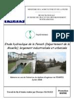 Etude Hydraulique Frensch_result Annexe