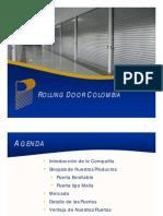 Presentacion Rolling Door Colombia