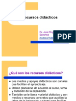 Recursos didácticos JRLS