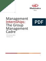 Application Process - Management Interns