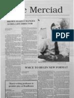 The Merciad, Sept. 21, 1989