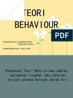 Teori Behavior