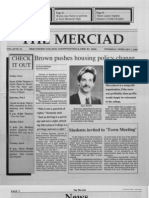 The Merciad, Feb. 1, 1990