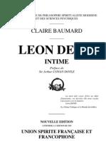 Claire Baumard-Leon Denis Intime