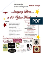 NYCID 2011 Benefit Flyer