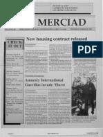 The Merciad, March 29, 1990