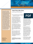 Trade Policy after Doha