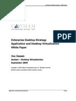Enterprise Desktop Strategy 092009