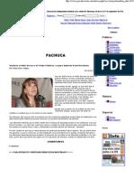 24-05-11 Continúa el doble discurso de Felipe Calderón, asegura diputada Paula Hernández