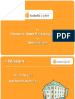 Introduction to hotelicopter for DMOs