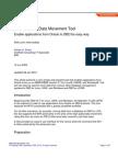 IBM Data Movement Tool