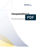 Change Auditor Built-In Reports