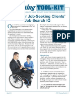 Test Your Job-Seeking Clients' Job-Search IQ