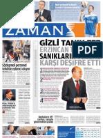 Gizli Tanık Efe Erzincan Tezgahını Sanıkların Yüzüne Deşifre Etti - Zaman Gazetesi 25-05-2011
