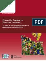 Educación Popular y Derechos Humanos Actividades Participativas