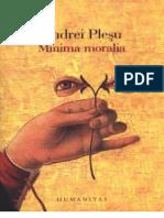 36416598 Andrei Plesu Minima Moralia