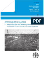 OPERACIONES PESQUERAS.  Prácticas para reducir las capturas de aves marinas
