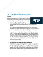 Leadership 10 Principles