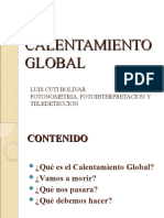 Calentamiento Global Original