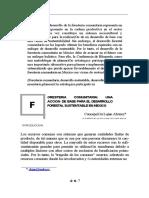 Foresteria Comunitaria Mexico.Una acción para el desarrollo forestal sustentable en México