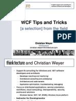 Dev Week 2010 WCF Tips and Tricks