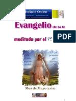 Evangelios Mayo 2011