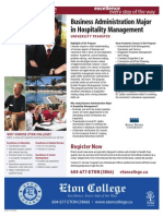 Business Admin Hospitality Management