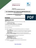 VIII Congreso Ciencias Empresariales