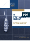 Is Protectionism Dying?